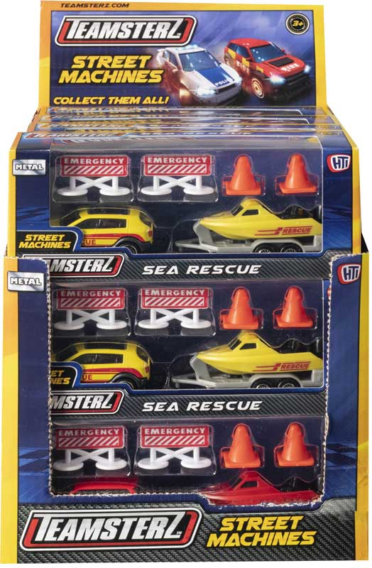 Wholesalers of Teamsterz Sea Rescue Asst toys
