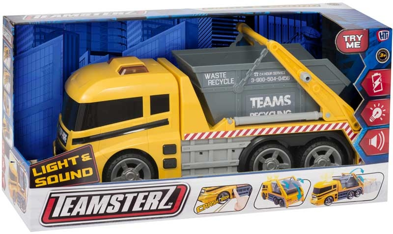 Wholesalers of Teamsterz Skip Lorry toys