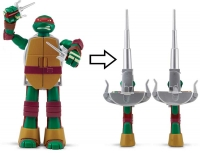 Wholesalers of Teenage Mutant Turtles Deluxe Turtle Weapon Asst toys image 3