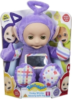 Wholesalers of Teletubbies Tinky Winky Sensory Soft Toy toys image