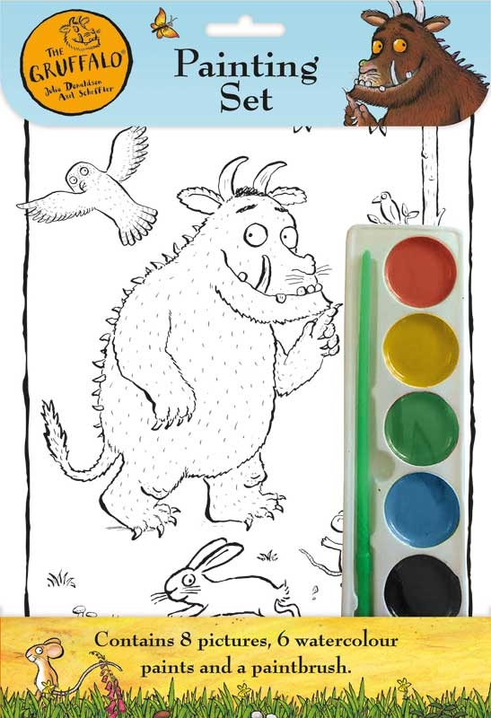 Wholesalers of The Gruffalo  Painting Set toys
