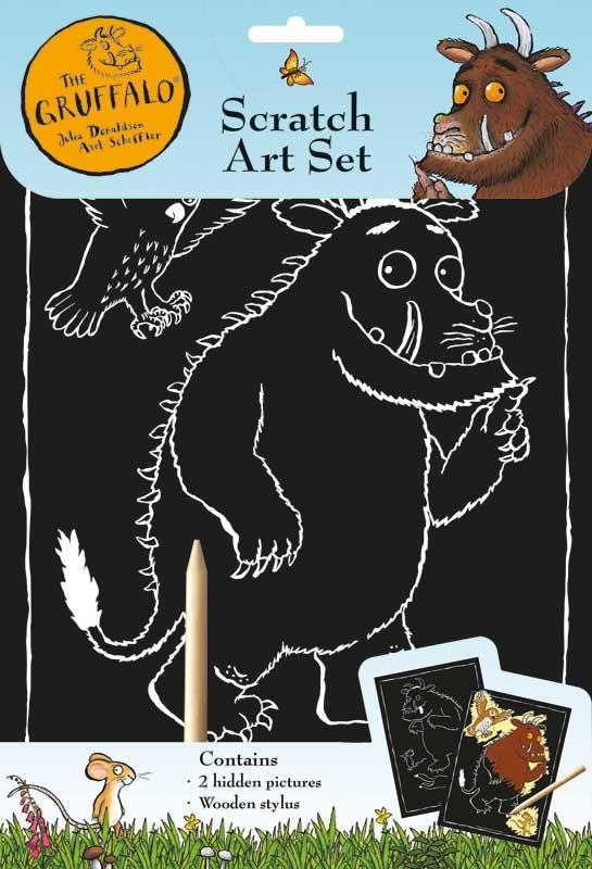 Wholesalers of The Gruffalo  Scratch Art toys