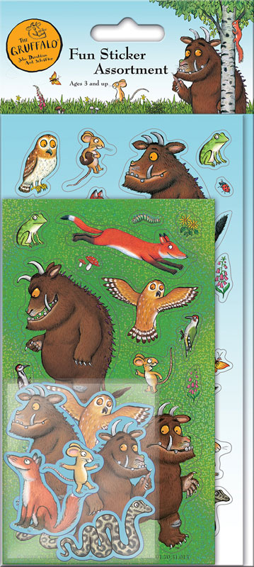 Wholesalers of The Gruffalo Assortment Pack Stickers toys