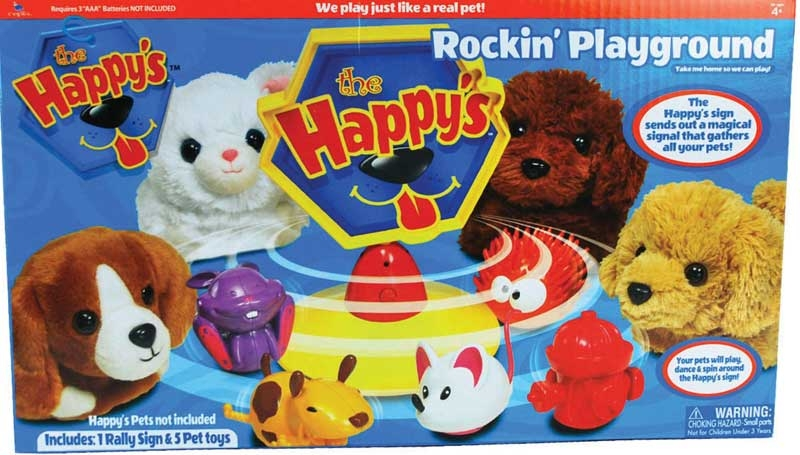 Wholesalers of The Happys Rockin Playground toys