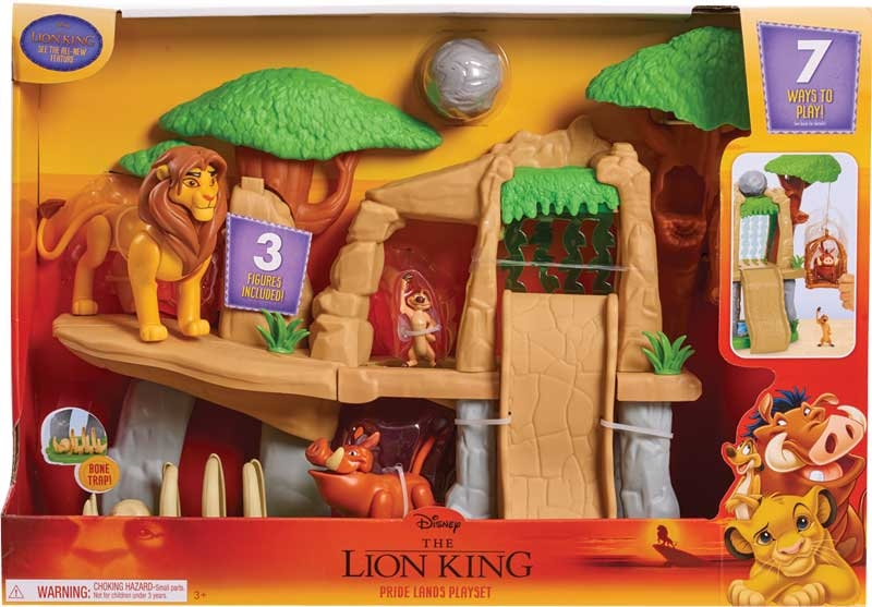 Wholesalers of The Lion King Classic Pride Land Playset toys