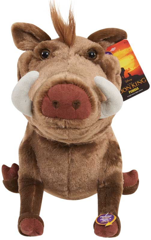 Wholesalers of The Lion King Live Action Large Plush With Sound - Pumbaa toys