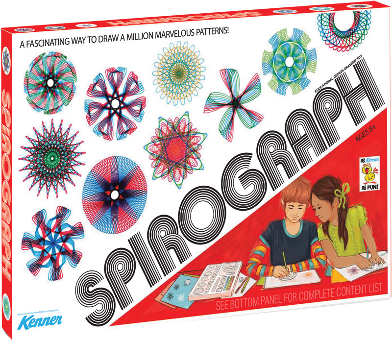 Wholesalers of The Original Spirograph Retro Deluxe Set In Cdu toys