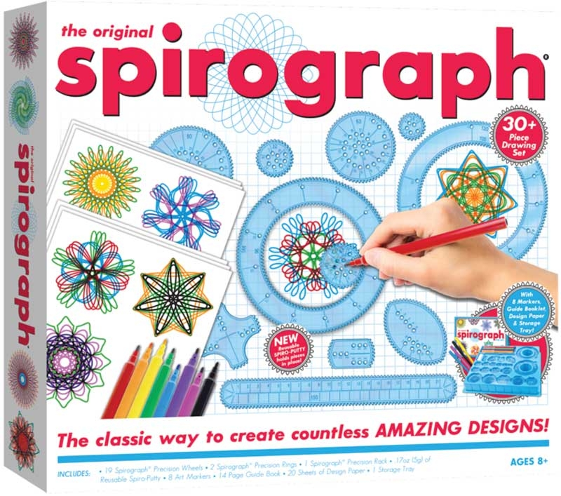 Wholesalers of The Original Spirograph Set With Markers toys