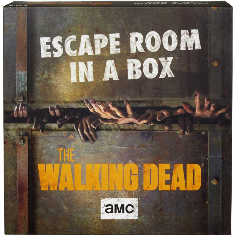 Wholesalers of The Walking Dead Escape Room In A Box toys