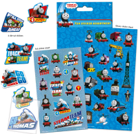 Wholesalers of Thomas & Friends Assortment Pack Stickers toys image 2