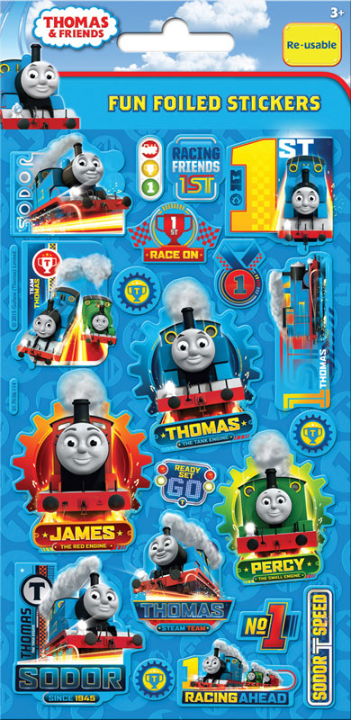 Wholesalers of Thomas & Friends Foil Stickers toys