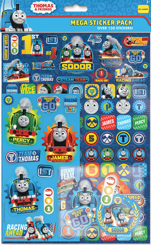 Wholesalers of Thomas & Friends Mega Pack Stickers toys