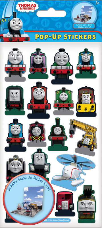 Wholesalers of Thomas & Friends Pop Up Stickers toys