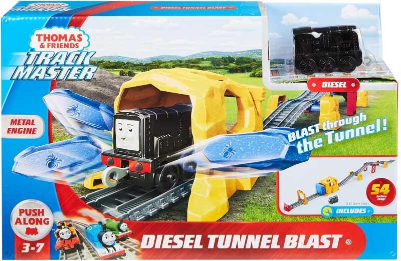 Wholesalers of Thomas & Friends Trackmaster Diesel Tunnel Blast Set toys