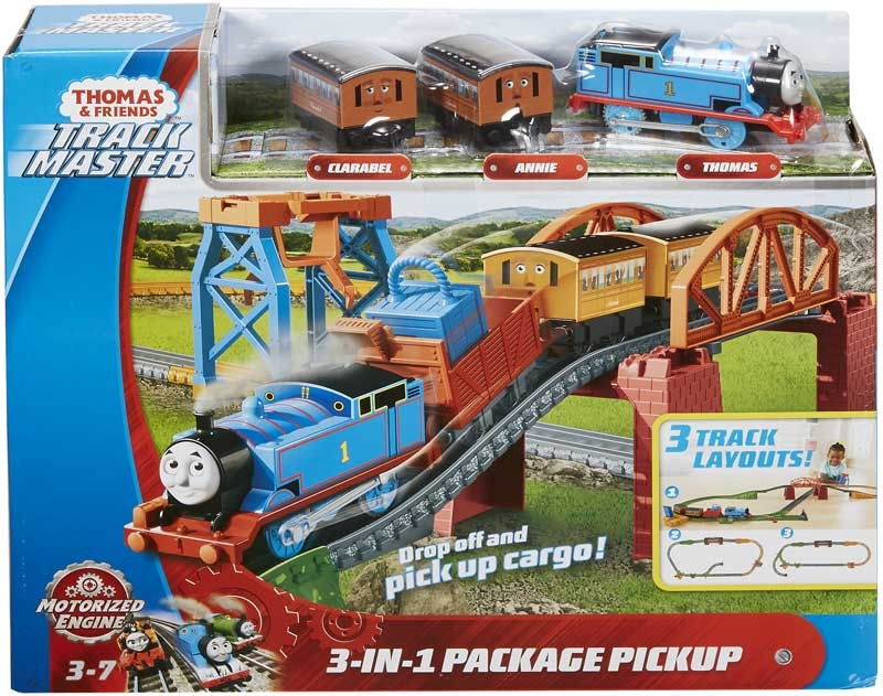 Wholesalers of Thomas & Friends Trackmaster Motorised 3 In 1 Playset toys