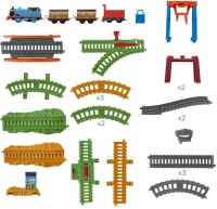 Wholesalers of Thomas & Friends Trackmaster Motorised 3 In 1 Playset toys image 2