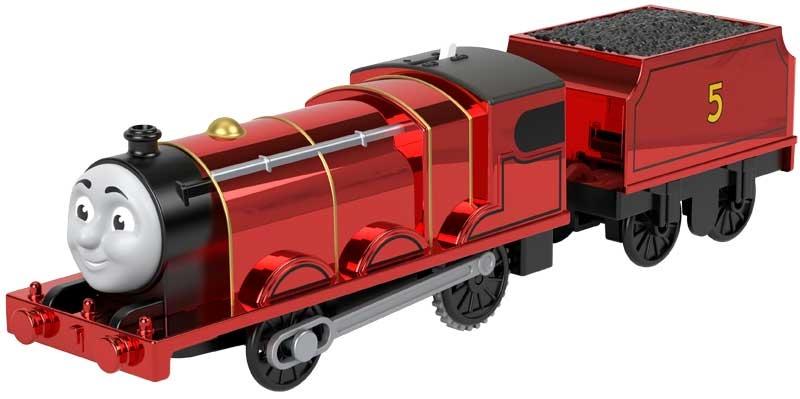 Wholesalers of Thomas Motorised - Metallic James toys