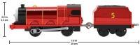 Wholesalers of Thomas Motorised - Metallic James toys image 2