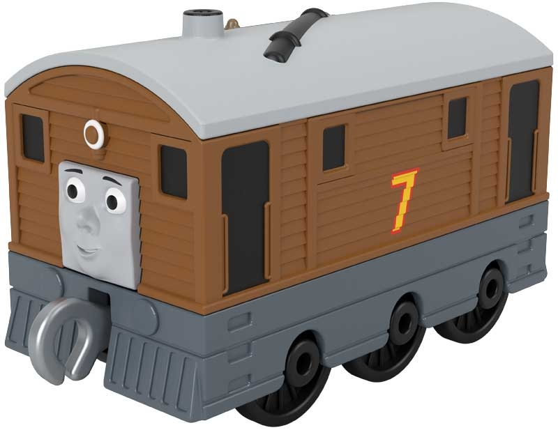 Wholesalers of Thomas & Friends Trackmaster Push Along Small Engine Toby toys