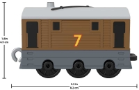 Wholesalers of Thomas & Friends Trackmaster Push Along Small Engine Toby toys image 2