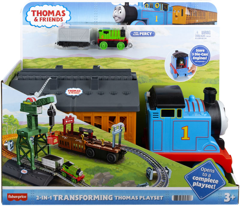 Wholesalers of Thomas And Friends 2-in-1 Transforming Thomas Playset toys