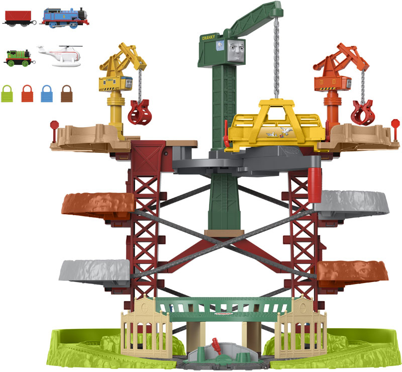 Wholesalers of Thomas And Friends Trains And Cranes Super Tower toys
