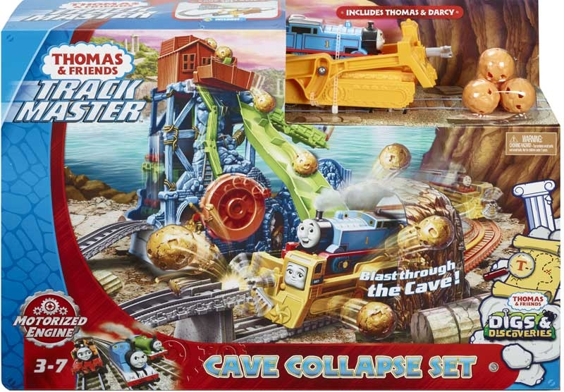 Wholesalers of Thomas Cave Collapse Set toys