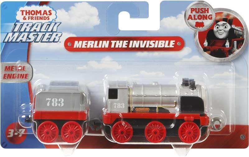 Wholesalers of Thomas Large Push Along Engine - Merlin The Invisble toys