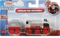 Wholesalers of Thomas Large Push Along Engine - Merlin The Invisble toys image