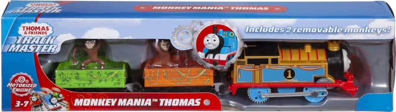 Wholesalers of Thomas Motorised Monkey Mission Thomas toys
