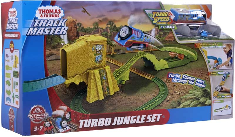 Wholesalers of Thomas Motorized Turbo Jump Jungle Set toys