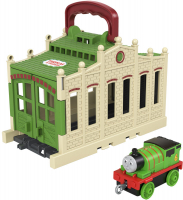 Wholesalers of Thomas - Connect & Go Tidmouth Sheds Asst toys image 5