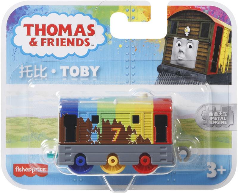 Wholesalers of Thomas Small Push Along - Rainbow Toby toys