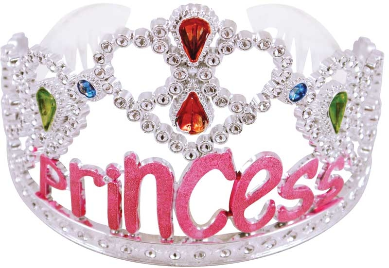 Wholesalers of Tiara Silver Pink Princess toys