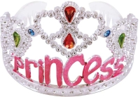 Wholesalers of Tiara Silver Pink Princess toys image