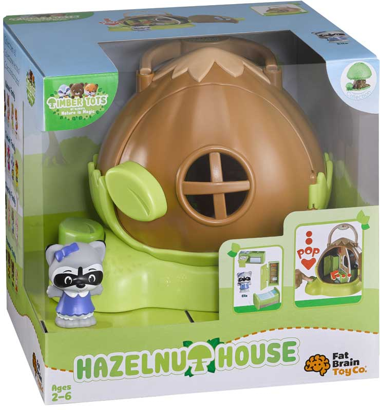 Wholesalers of Timber Tots Hazelnut House With Figures toys