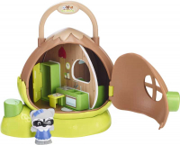 Wholesalers of Timber Tots Hazelnut House With Figures toys image 2