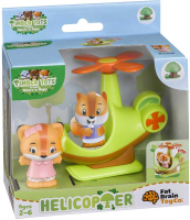 Wholesalers of Timber Tots Helicopter With Figures toys image