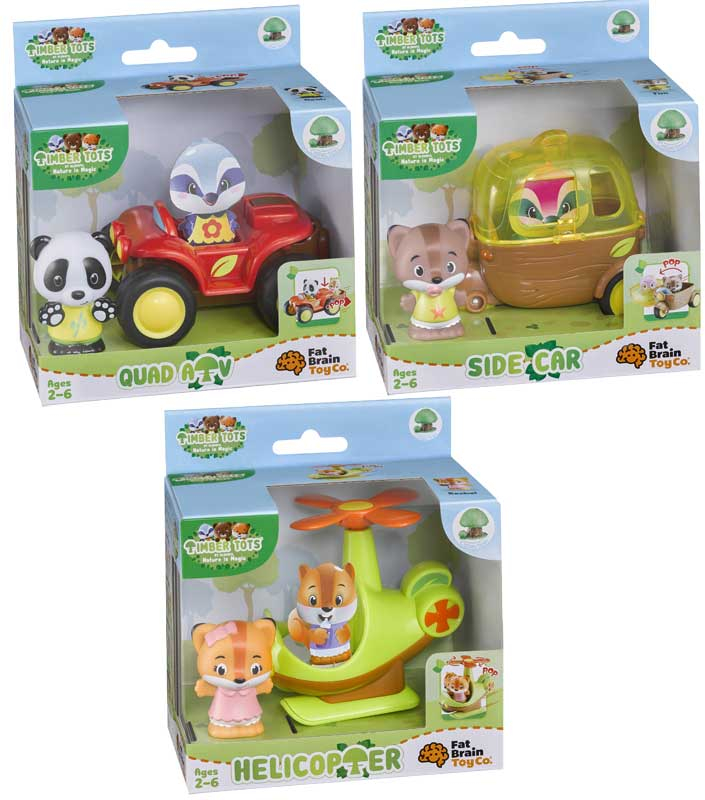Wholesalers of Timber Tots Vehicle Assortment toys