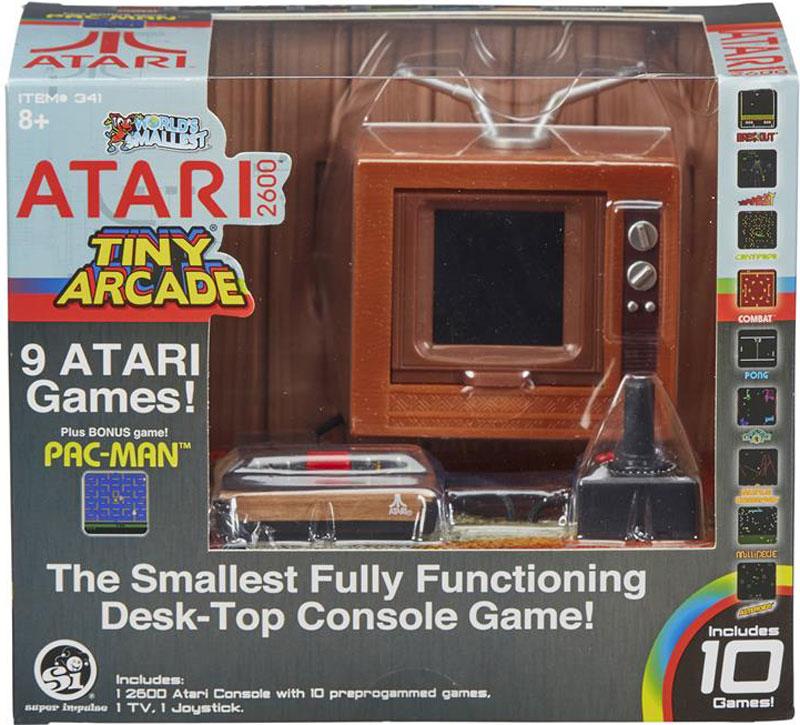 Wholesalers of Tiny Arcade Atari 2600 toys