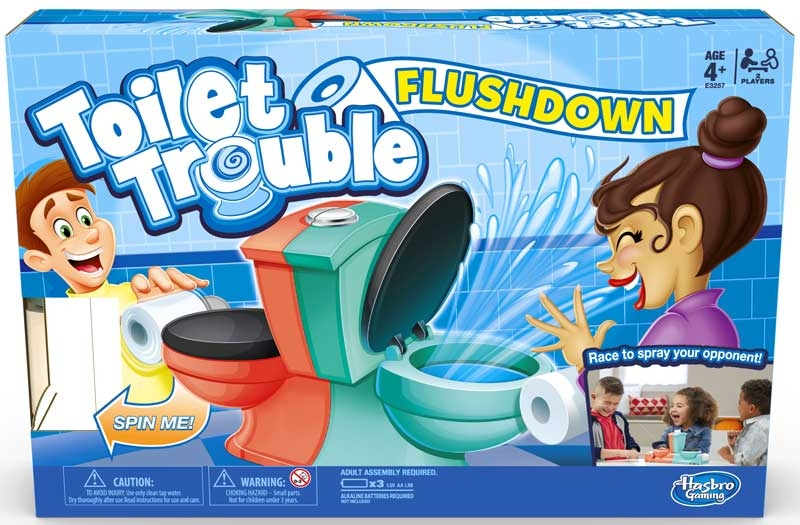 Wholesalers of Toilet Trouble Flushdown toys