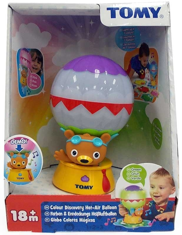 Wholesalers of Tomy Colour Discovery Hot-air Balloon toys