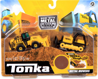 Wholesalers of Tonka Metal And Steel Bulldozer And Front Loader toys image