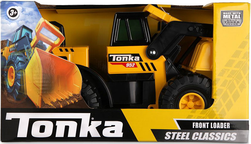 Wholesalers of Tonka Steel Classics - Front Loader toys
