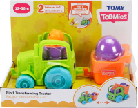 Wholesalers of Toomies 2 In 1 Transforming Tractor toys image