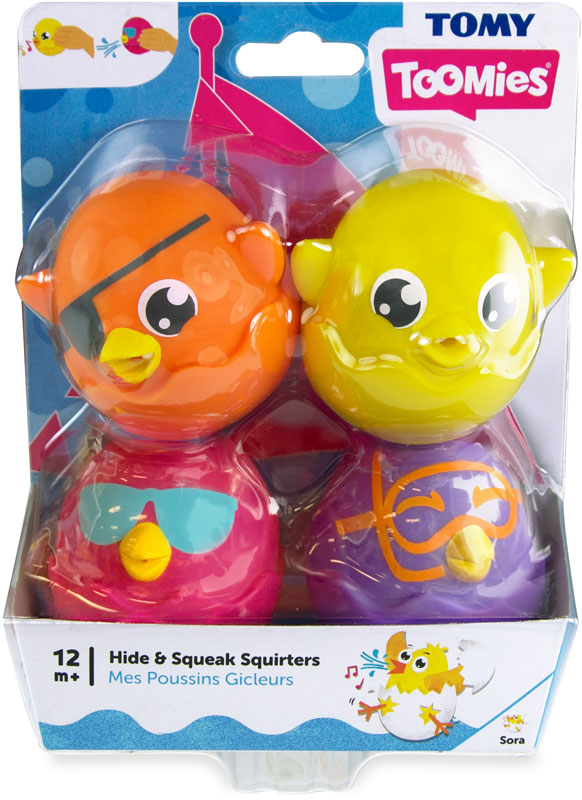 Wholesalers of Toomies Hide And Squeak Bath Squirters toys