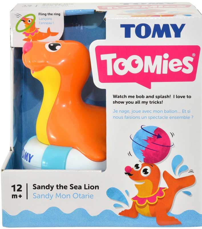 Wholesalers of Toomies Sandy The Sea Lion toys
