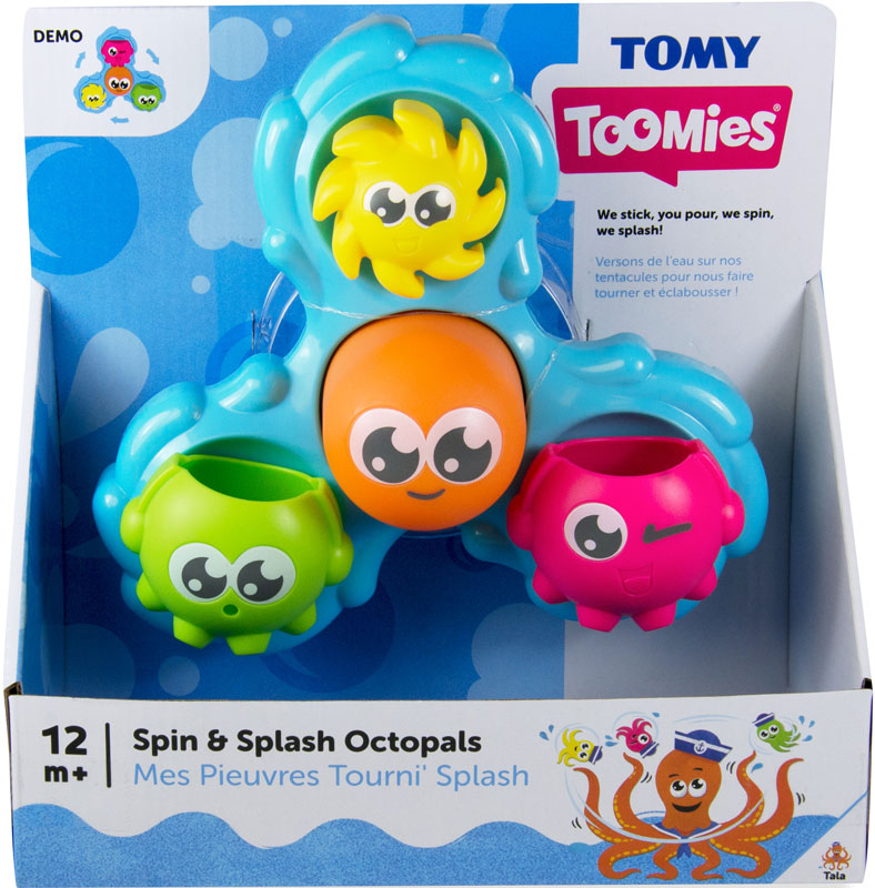 Wholesalers of Toomies Spin And Splash Octopals toys