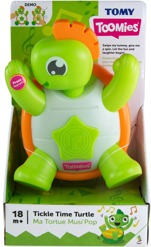 Wholesalers of Toomies Tickle Time Turtle toys