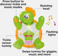 Wholesalers of Toomies Tickle Time Turtle toys image 5